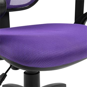 Chaise de bureau pour enfant COOL, violet