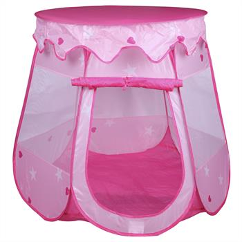 Tente de jeu enfant GIRLY rose
