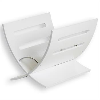 Porte-revues FUNK, décor blanc