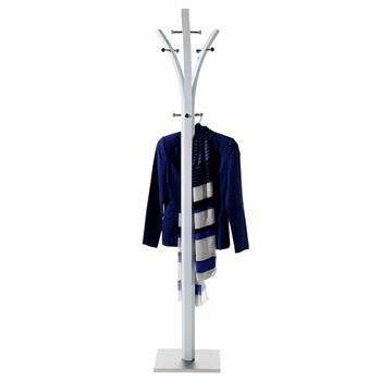 Porte-manteaux DENIS 8 portants, en métal laqué