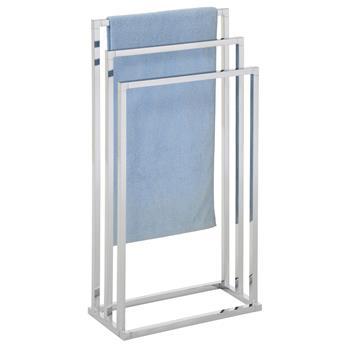 Porte-serviettes KUNO, en métal chromé