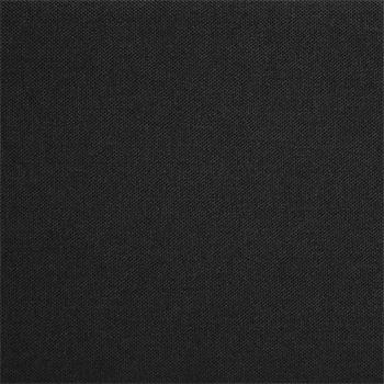 Lit futon simple NIZZA, 120 x 190 cm, avec sommier, revêtement en tissu noir