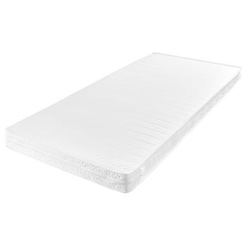 Matelas blanc P100 en mousse vendu enroulé, 6 tailles disponibles