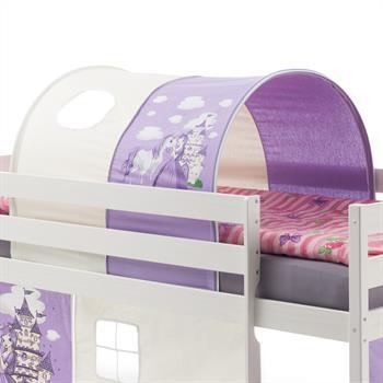 Tunnel MAX pour lit surélevé, motif princesse