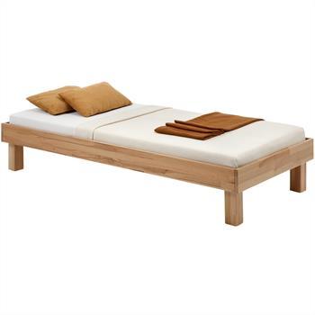 Lit futon en hêtre MIRIAM-1, 4 tailles disponibles, vernis naturel