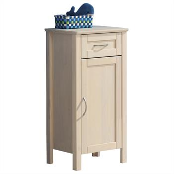Meuble de salle de bain CALIFORNIA, en pin blanchi