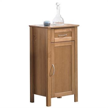 Meuble de salle de bain en pin CALIFORNIA, coloris cognac