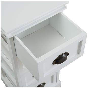 Chiffonnier LANDHAUS, 4 tiroirs, blanc