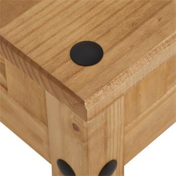 Table basse en pin SALSA style mexicain, avec 1 tiroir
