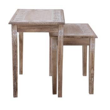 Set de 2 tables gigognes RILEY