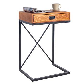 Table d'appoint IGNACIO avec 1 tiroir