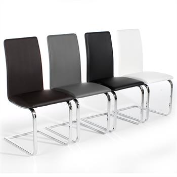 Lot de 4 chaises ANGELO