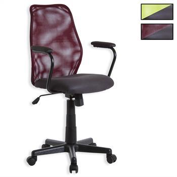 Fauteuil de bureau avec accoudoirs BENDIX, 2 coloris disponibles