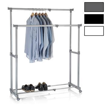 Portant à vêtements CASA, en métal chromé