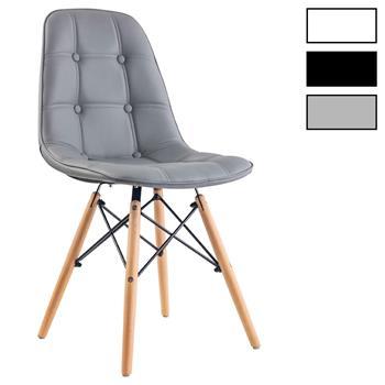 Lot de 4 chaises CESAR, en synthétique