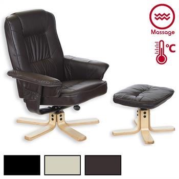 Fauteuil de relaxation massant COMFORT 3 coloris disponibles