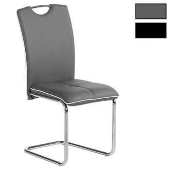 Lot de 4 chaises ELEONORA, en synthétique