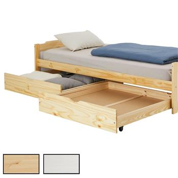 Lot de 2 tiroirs pour lit superposé FELIX et FELIX-2, 2 tailles et 2 coloris disponibles