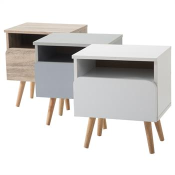 Table de chevet GIORGIA, 3 coloris disponibles