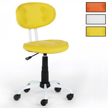 Fauteuil de bureau pour enfant LENIE, 3 coloris disponibles