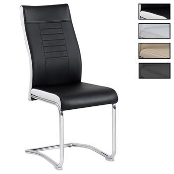 Lot de 4 chaises LOANO, en synthétique