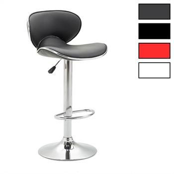 Lot de 2 tabourets de bar LOUNGE, 4 coloris disponibles