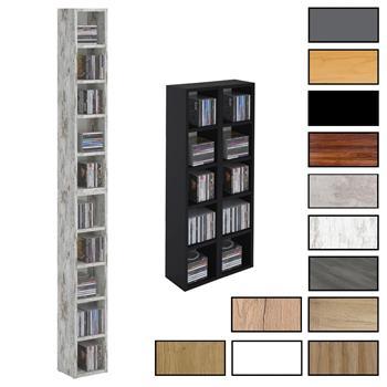 Etagère modulable MUSIQUE pour CD et DVD 6 coloris disponibles