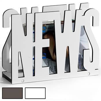 Porte-revues NEWS, 2 coloris disponibles