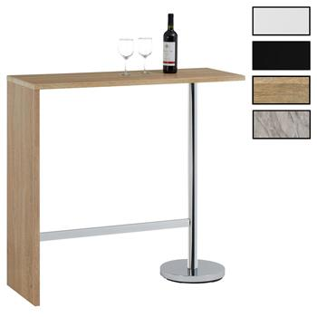 Table haute de bar RICARDO, 3 coloris disponibles