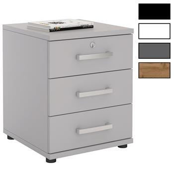 Caisson de bureau 3 tiroirs YVES, 4 coloris disponibles
