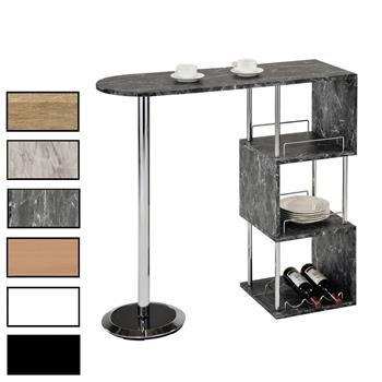 Table haute de bar VIGANDO, 3 coloris disponibles