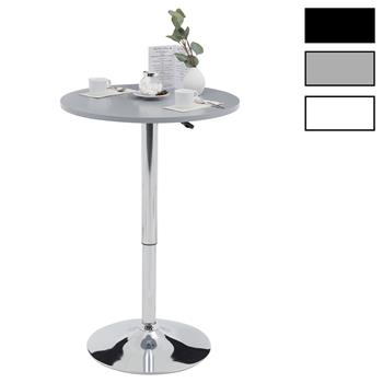 Table haute de bar VISTA, 2 coloris disponibles