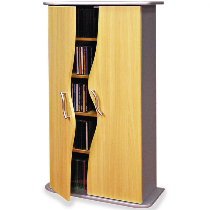armoire wave pour cds et dvds mobil meubles. Black Bedroom Furniture Sets. Home Design Ideas