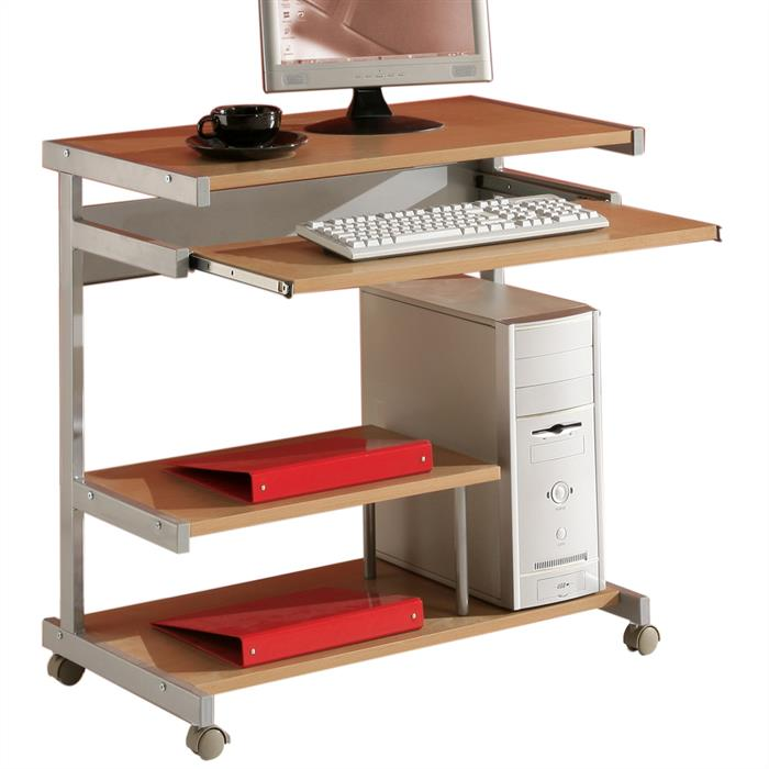 Bureau informatique JOKER, couleur hêtre