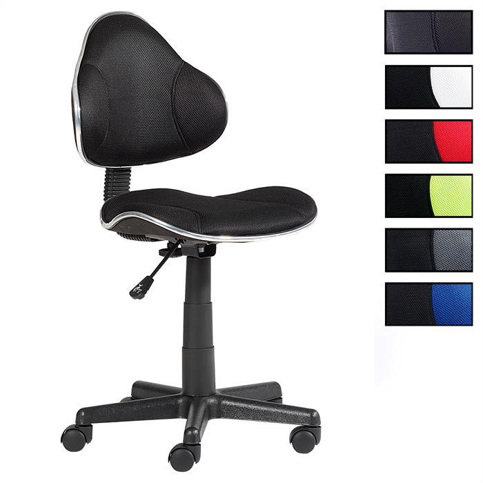 fauteuil de bureau enfant alondra noir noir mobil meubles. Black Bedroom Furniture Sets. Home Design Ideas