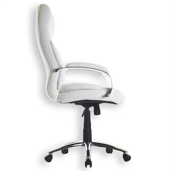 fauteuil de bureau consul 2 avec accoudoirs blanc mobil meubles. Black Bedroom Furniture Sets. Home Design Ideas