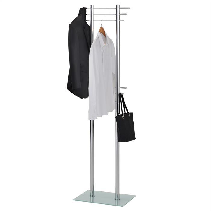 Porte-manteaux TARIS, en métal chromé