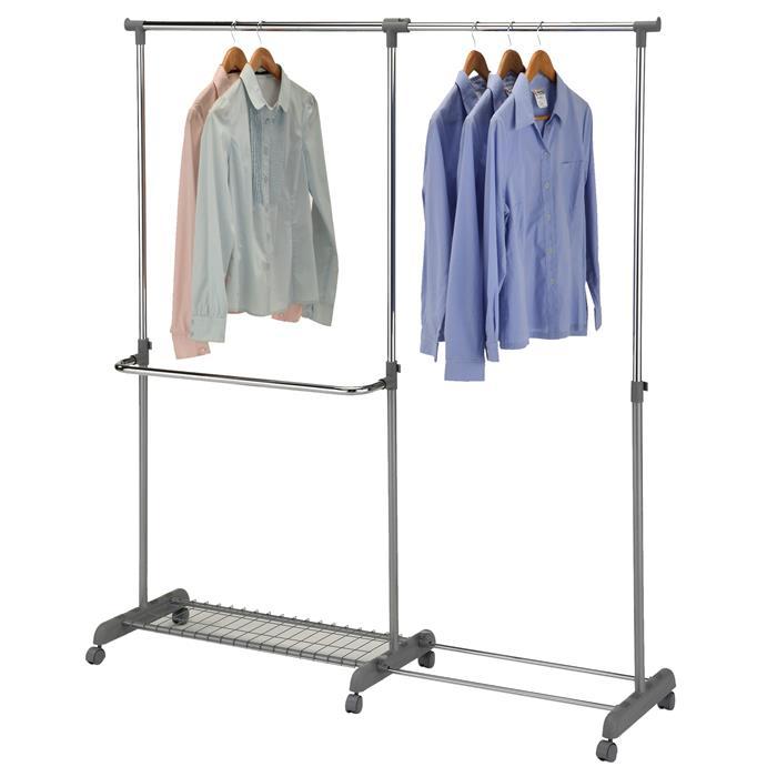portant roulettes meran hauteur et largeur r glables mobil meubles. Black Bedroom Furniture Sets. Home Design Ideas