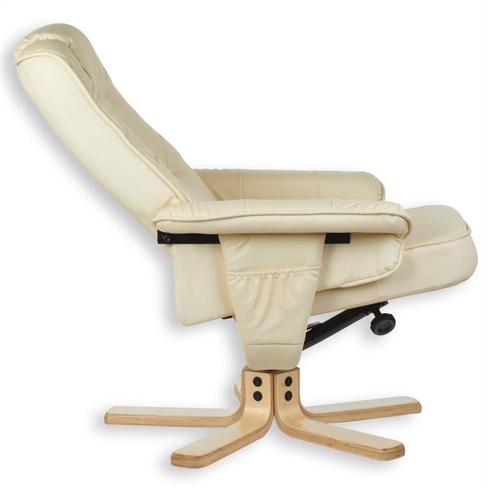 fauteuil de relaxation massant et chauffant comfort beige. Black Bedroom Furniture Sets. Home Design Ideas