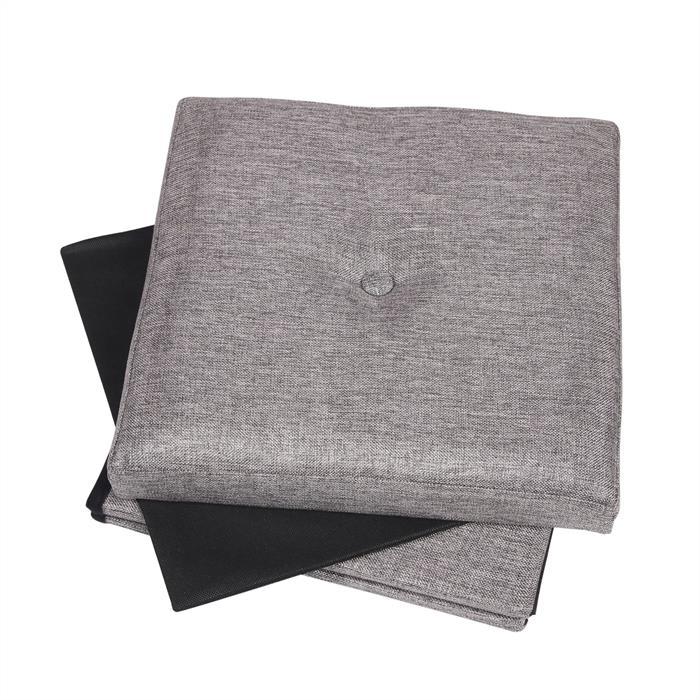 Tabouret de rangement RENATA, gris