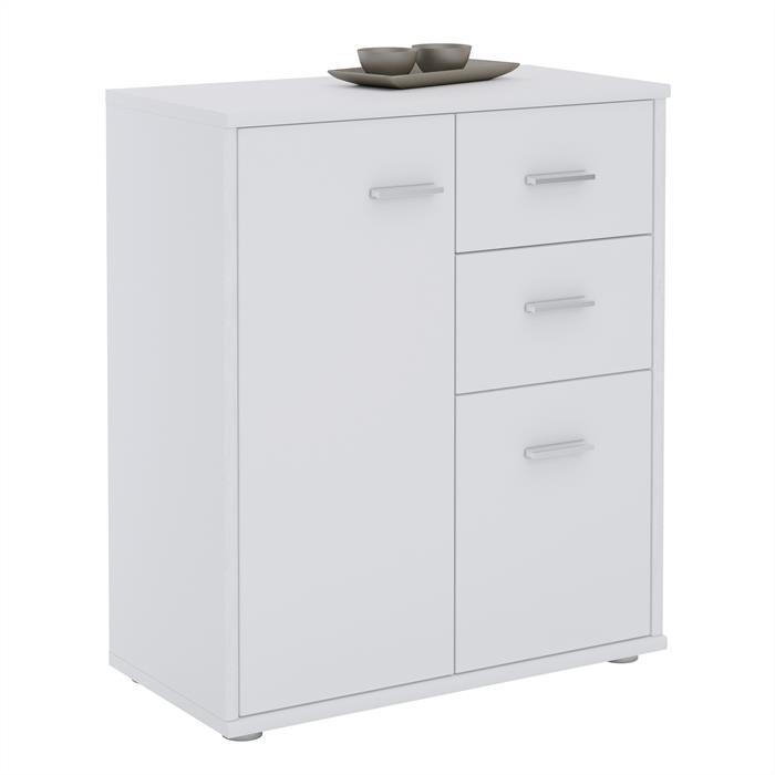 buffet remy en m lamin blanc mat mobil meubles. Black Bedroom Furniture Sets. Home Design Ideas