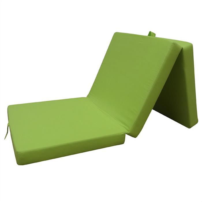 Matelas pliable en trois THOMMY, vert