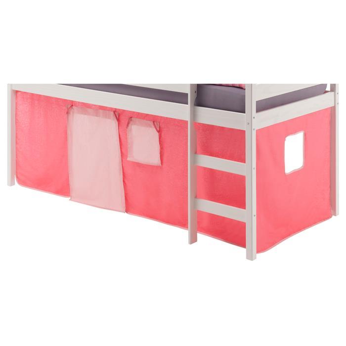 Rideaux MAX pour lit superposé ou surélevé, rose