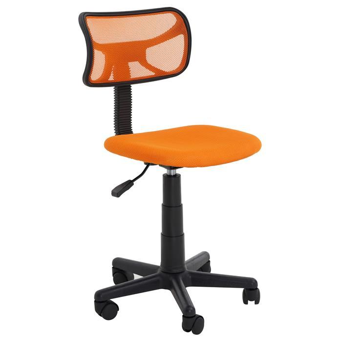 Chaise de bureau pour enfant MILAN, orange