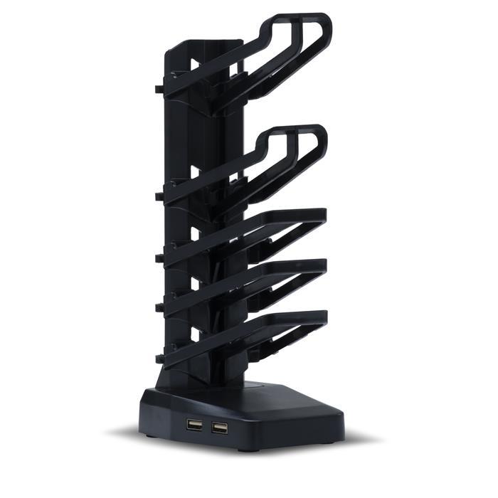 Bureau gamer BASE en métal noir