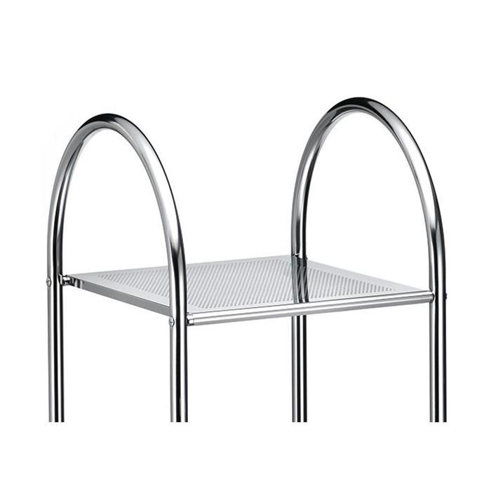 etag re de salle de bain seca en m tal chrom mobil meubles. Black Bedroom Furniture Sets. Home Design Ideas