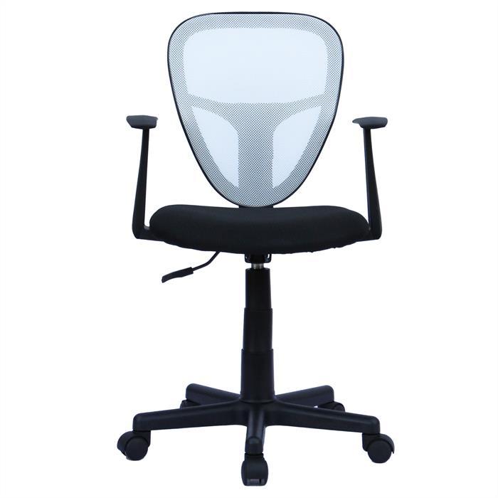 fauteuil de bureau pour enfant studio noir et blanc mobil meubles. Black Bedroom Furniture Sets. Home Design Ideas
