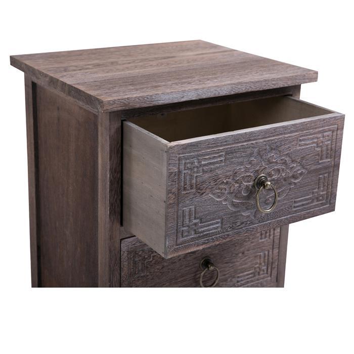 Table de chevet ENZO, 2 tiroirs