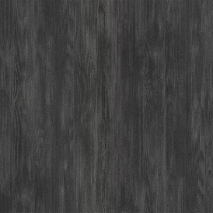 Chevet suspendu FLORENT, en mélaminé décor gris cendré