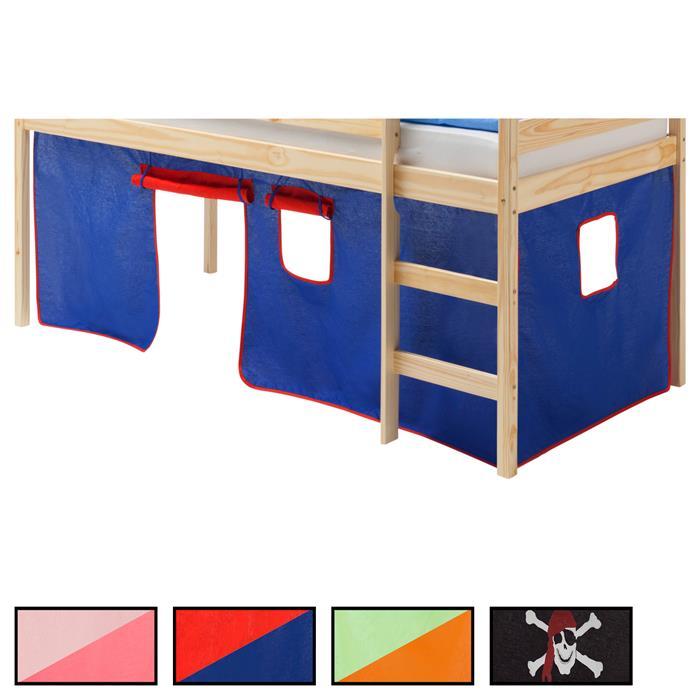 Rideaux MAX pour lits superposés ou surélevés, 4 coloris disponibles